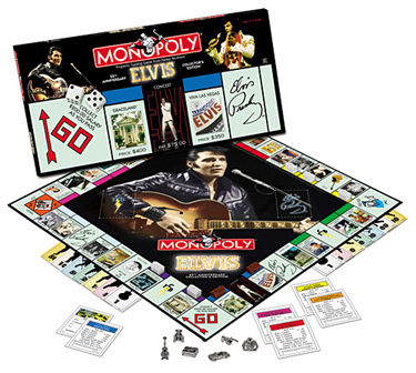 Elvis Monopoly by USAOpoly