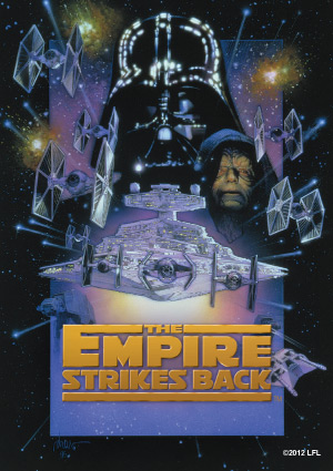 Star Wars The Empire Strikes Back Art Sleeves (50) by Fantasy Flight Games