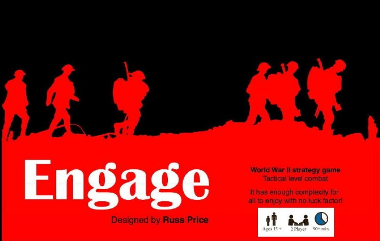 Engage Board Game - Slightly Damaged Box by Table Tactics