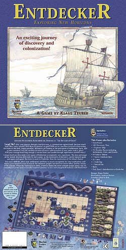 Entdecker - Exploring New Horizons by Mayfair Games
