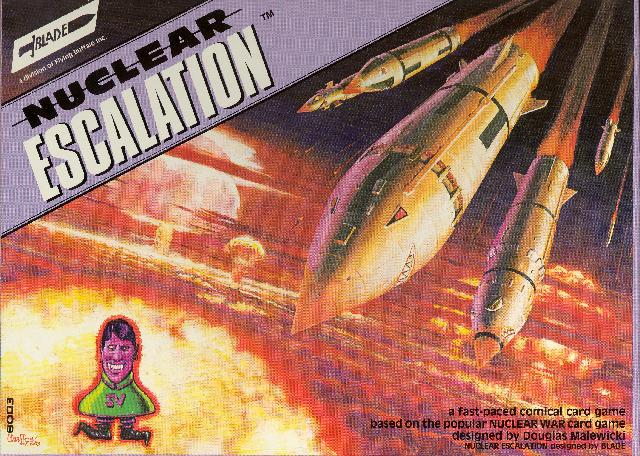 Nuclear Escalation Card Game (reprint) by Flying Buffalo Inc.