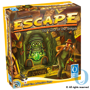Escape - The Curse of the Temple by Queen Games