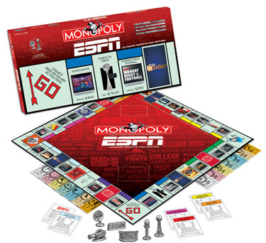 ESPN Monopoly by USAOpoly