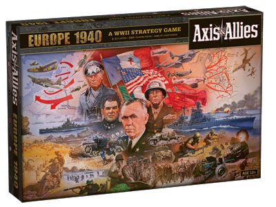 Axis & Allies: Europe 1940 by Wizards of the Coast