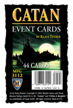 Settlers of Catan Event Cards by Mayfair Games