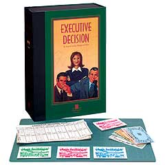 Executive Decision (Bookshelf Edition) by University Games
