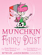 Munchkin Fairy Dust Card Game Deck by Steve Jackson Games