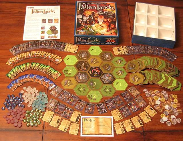 Conquest of the Fallen Lands by Assa Games Corporation
