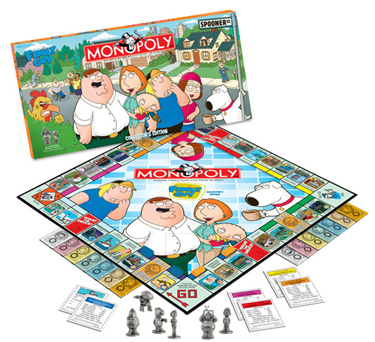 Family Guy Monopoly by USAopoly