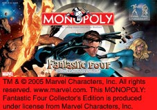 Fantastic Four Monopoly by USAOpoly