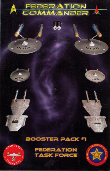 Federation Commander Booster Pack #1 - Federation Task Force by Amarillo Design Bureau, Inc.
