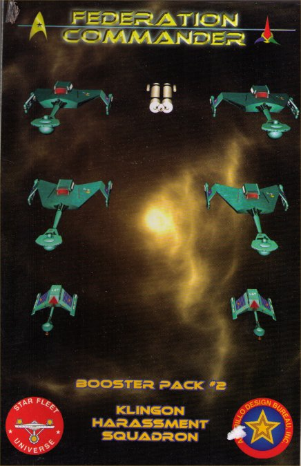 Federation Commander Booster Pack #2 - Klingon Harassment Squadron by Amarillo Design Bureau, Inc.