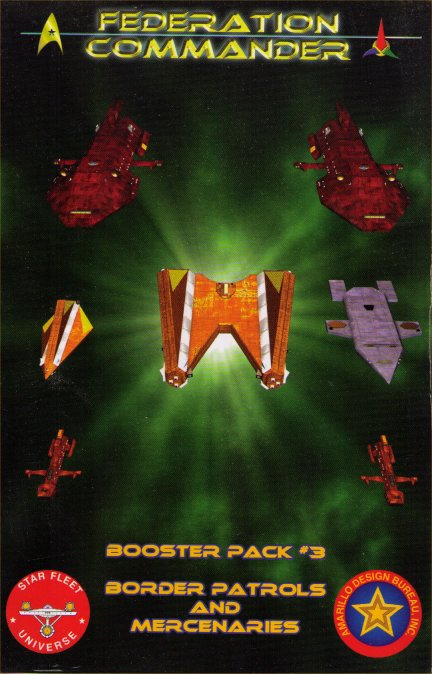 Federation Commander Booster Pack #3 - Border Patrols and Mercenaries by Amarillo Design Bureau, Inc.