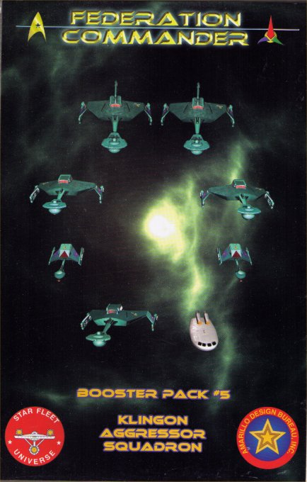 Federation Commander Booster Pack #5 - Klingon Aggressor Squadron by Amarillo Design Bureau, Inc.