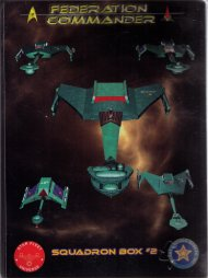 Federation Commander Squadron Box 2 by Amarillo Design Bureau, Inc.