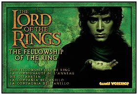 Lord of the Rings - The Fellowship Miniatures by Games Workshop