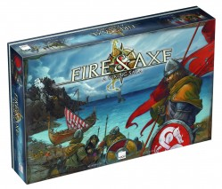Fire & Axe: A Viking Saga (Fire and Axe) by Asmodee Editions