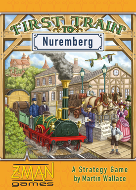 First Train to Nuremberg by Z-Man Games, Inc.
