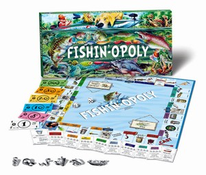 Fishin'-Opoly by Late For the Sky Production Co., Inc.