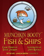 Munchkin Booty: Fish & Ships Pack by Steve Jackson Games