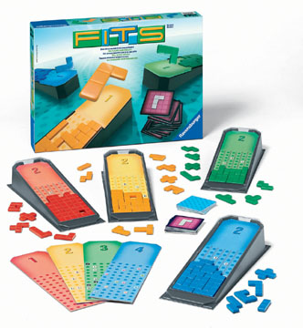 Fits Puzzle Game by Ravensburger