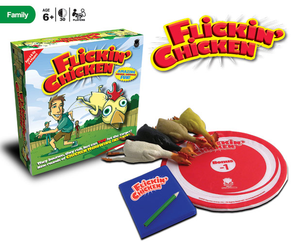 Flickin Chicken by Haywire Press