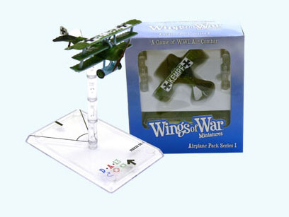Wings of War miniatures : Fokker DR I Fritz Kempf (Germany) by Fantasy Flight Games
