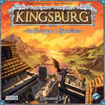Kingsburg: To Forge A Realm Expansion by Fantasy Flight Games