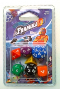 Formula D Dice set by Asmodee Editions