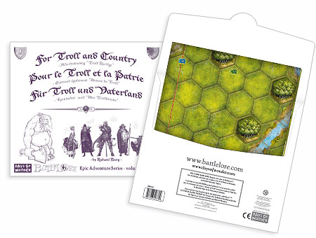 BattleLore For Troll/Country Expansion by Fantasy Flight Games