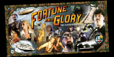 Fortune and Glory: The Cliffhanger Game by Flying Frog Productions, LLC