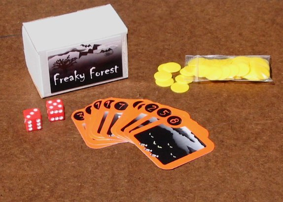 Freaky Forest - A Halloween Game by Black & White Games