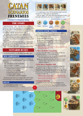 Catan Scenarios: Frenemies of Catan by Mayfair Games