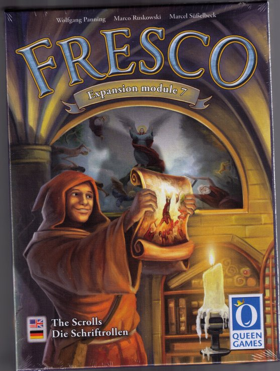 Fresco: Expansion module 7 The Scrolls Expansion by Queen Games