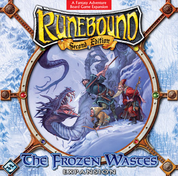 Runebound: The Frozen Wastes Expansion by Fantasy Flight Games