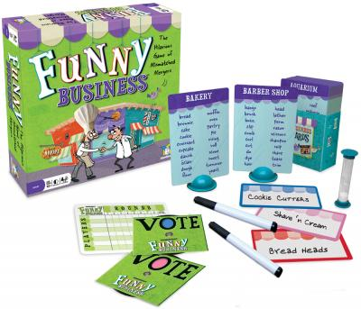 Funny Business by Gamewright