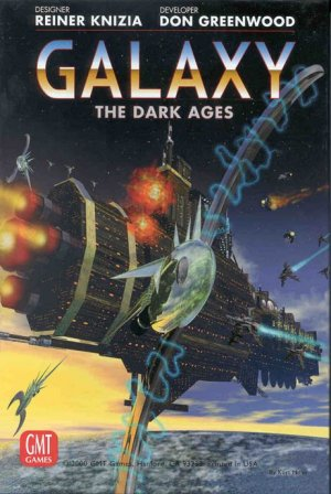 Galaxy: the Dark Ages by GMT Games
