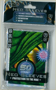 Card Sleeves - Mini - Neo Dragon Eye - Green (50) by Max Protection