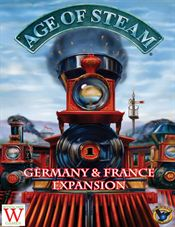 Age of Steam Expansion – France/Germany by FRED Distribution