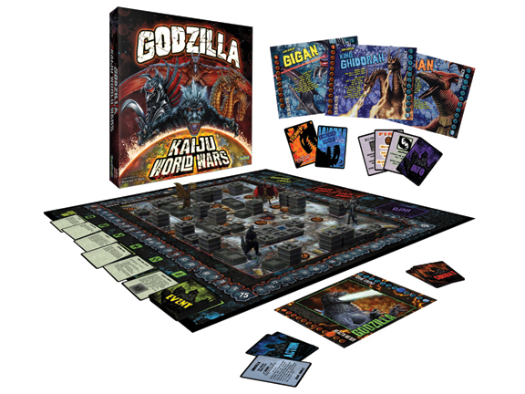 Godzilla: Kaiju World Wars Board Game by Toy Vault, Inc.