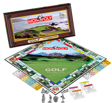 PGA Tour Monopoly (MONOPOLY®: Golf Signature Holes Edition ) by USAOpoly