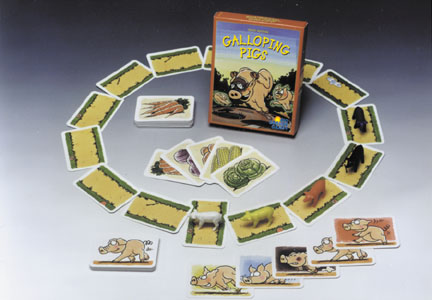 Galloping Pigs by Rio Grande Games