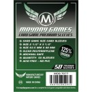 Premium Card Game Sleeves - clear - (Pack of 50) 63.5 MM X 88 MM by Mayday Games