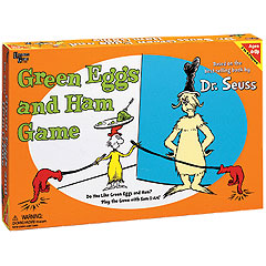 Green Eggs & Ham Board Game by University Games