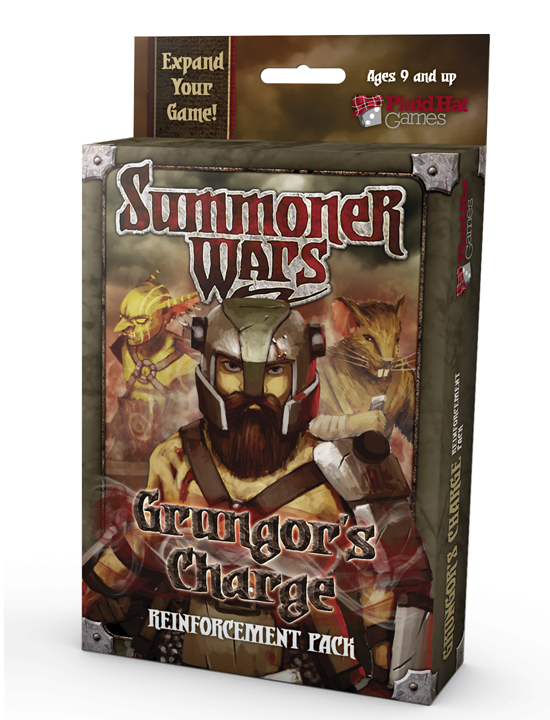 Summoner Wars: Grungor's Charge Reinforcement Pack by Plaid Hat Games