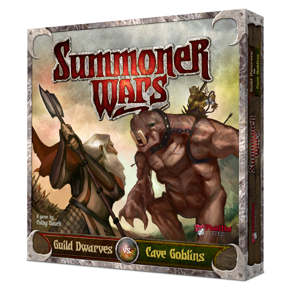 Summoner Wars: Guild Dwarves vs Cave Goblins by Plaid Hat Games