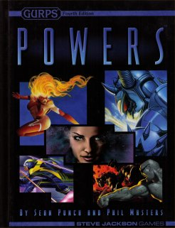 Gurps Fourth Edition: Powers Hc by Steve Jackson Games