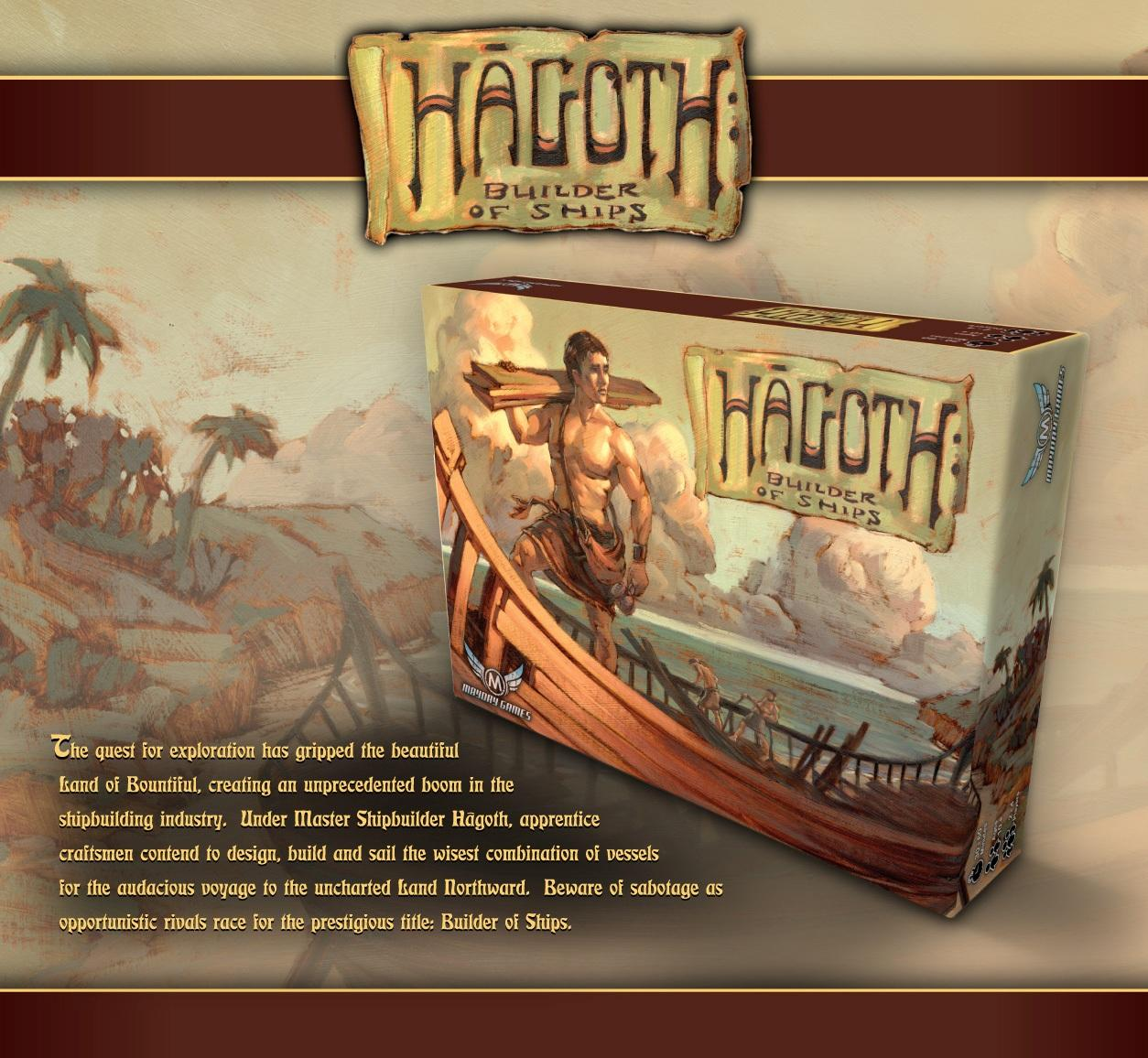 Hagoth: Builder of Ships by Mayday Games