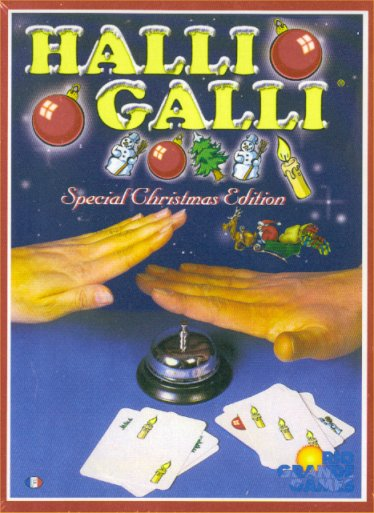 Halli Galli - Special Christmas Edition by Rio Grande Games