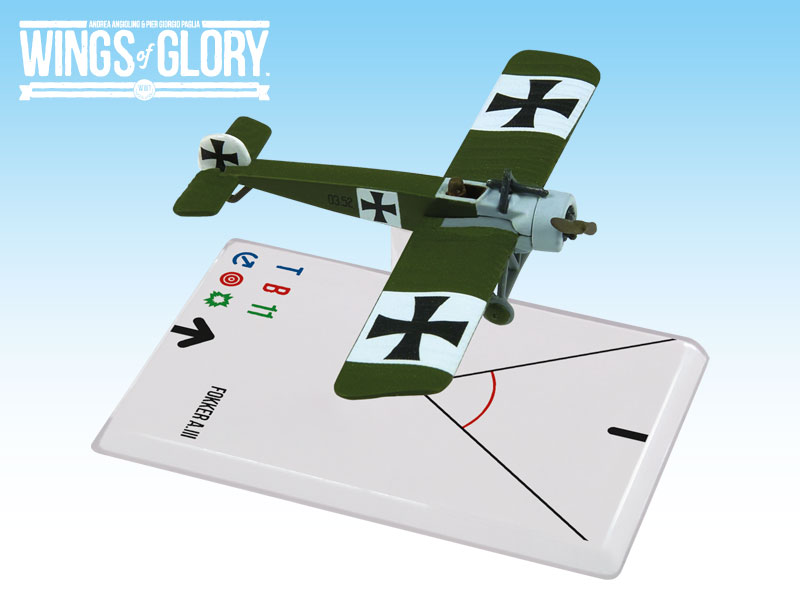 Wings of Glory WWI : Fokker A.III (Hautzmayer) by Ares Games Srl